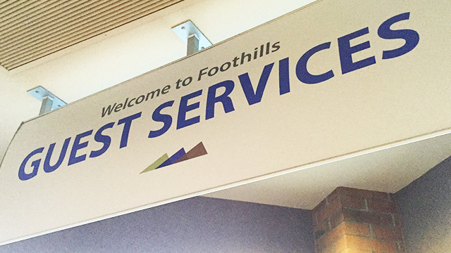 Guest Services at Foothills Church in Ahwatukee, Phoenix, Arizona